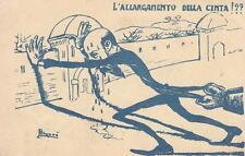 """A9102) BOLOGNA 1901, """"L'ALLARGAMENTO DELLA CINTA!??"""". ILLUSTRATORE BUGANE'"""