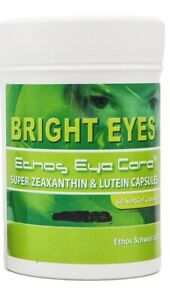 Ethos Bright Eyes Zeaxanthin and Lutein Capsules for Better Vision & Eyesight