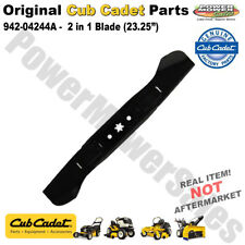 "(1) OEM Cub Cadet High-Lift Mower Blade 46"" Deck 942-04244A 742-04244A"