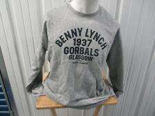 VINTAGE SOCIAL RECLUSE BENNY LYNCH 1937 GORBALS GLASGOW BOXING 2XL SWEATSHIRT