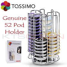 Tassimo Genuino 52 Cápsula Café Pod T-Disco de acero inoxidable titular de almacenamiento de información