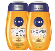 Nivea Natural Oil Shower Oil For Dry Skin  Pampering 2 X 200