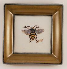 Vintage Homart Bee No. 7 Decorative Dish Trinket Tray