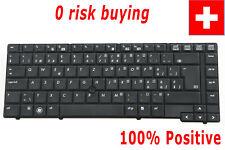For HP Probook 6440b 6445b 6450b 6455b Keyboard Swiss German CH Tastatur Pointer