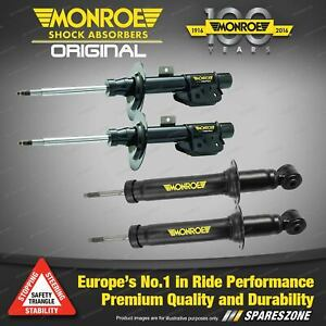 Monroe F + R Original Shock Absorbers for Nissan Pulsar N15 RF SSS Hatch Sedan