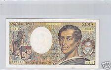 FRANCE 200 FRANCS MONTESQUIEU 1992 S.117 N° 233540639