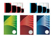 Kladde Notizbuch 192 Seiten Tagebuch liniert, kariert, blanko - A4, A5, A6, A7
