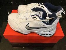 White Mens Nike Air Monarch IV Training  Shoes Size 10 New Box Width Medium