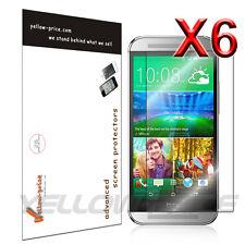 HTC One M8 Screen Protector Premium HD Clear (6-Pack)