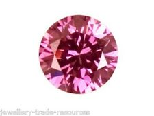 3.25mm Natural Pink Sapphire Round Cut Gem Gemstone