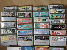 Lot 29 jeux Nintendo Super Famicom Jap