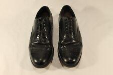 Florsheim Lexington #20381 Men's Black Leather Wingtip Oxfords 10 D