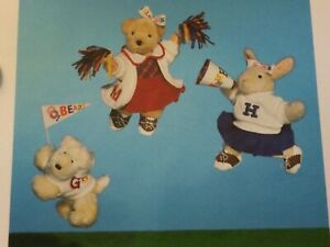 "Muffy Vanderbear '96 Muffy Hoppy & Lulu Cheerleader Outfits ""Go Fur It"""