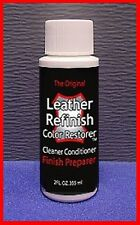 The Surface Prepairer for LEATHER Refinish an Aid to Color RESTORER  2oz.
