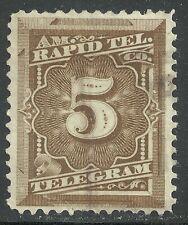U.S. Revenue Telegraph stamp scott 1t3 - 3 cent American Rapid Tele. Co. - #2