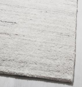 John Lewis & Partners SHALE STRIATIONS Light Grey Rug - 152 x 244cm  *RRP £399*