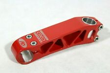 "NOS Stem Modolo OXO 130 mm A-Head 1 1/8"" Vintage 26mm Red CNC MTB"