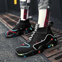 Men's Fashion Casual Shoes Ultralight Sports Sneakers Breathable Athletic Youth