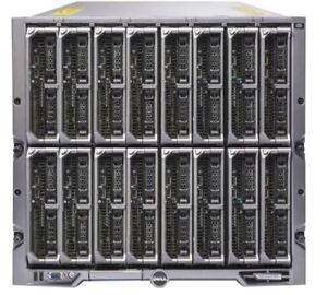 Dell PowerEdge M1000E Chassis W/ 16x M620 Blade Server 32x E5-2640 512GB Ram