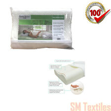 Cool Max Contour Pillow Memory Foam Pillows Bamboo Zip Off Coolmax Cover 2019