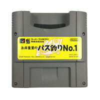 Itoi Shigesato no Bass Tsuri No. 1 Nintendo Super Famicom NTSC-J Japan