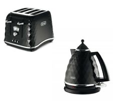 Delonghi Brillante Kettle Toaster Set Kitchen Black Buy Cheap Sale Clearance