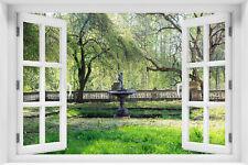 Wandillusion Wandbild FOTOTAPETE Fensterblick Natur Landschaft PVC/VLIES  kr-181