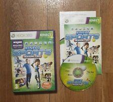 Kinect Sports: Season Two (XBox 360, 2011) Play 6 NEU Sport! in super Zustand