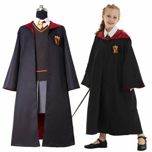 Hermione Granger Gryffindor Uniform Cosplay Costume Suit Kid &Adult Outfit