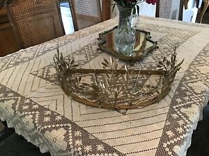 New Pottery Barn Kids Monique Lhuillier Gold Vine Crown -opened Box Item