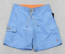 Polo Ralph Lauren Swim Trunks Board Blue Swimming Shorts Large L NWT