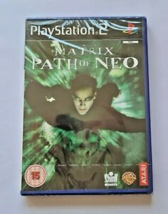 THE MATRIX PATH OF NEO PS2 NEW/SEALED TOTAL GAMER PS2 RANGE WITH PS2 STRIP.