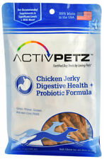 Digestive Health Plus Probiotic Jerky Treat For Dogs Natural Chews Chicken 7oz