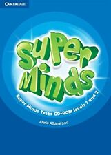 Super Minds Levels 1 and 2 Tests CD-ROM, Altamirano, Annie, Very Good condition,