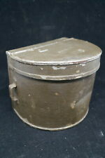Ww1 Canadian Cef British Bef 18 Pounder Grease Tin