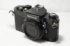 Nikon Nikomat FT2 Black SLR As-Is [5124195]