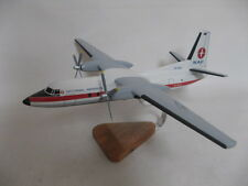 Fokker 27 F-27 NAC New Zealand National Airways Corporation Wood Model B