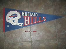Rare Vintage 1970's NFL pennant BUFFALO BILLS Full Size - owned by Celebrity
