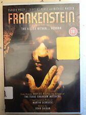 Vincent Perez Thomas Kretschmann FRANKENSTEIN Scorsese Horror Classico UK DVD