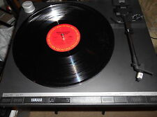 YAMAHA P-520 DIRECT DRIVE TURNTABLE JAPAN WITH STANTON CARTRIDGE WORKS GREAT!!