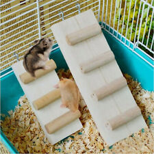 Rat Mouse Hamster Bird Ladder Climbing Ladder Shelf Cage Toys Supplies SK