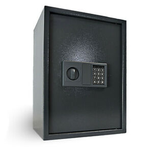 Large Digital Safe Steel Electronic Code High Security Home Office Money Safety