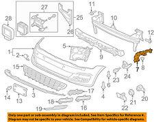 VW VOLKSWAGEN OEM 15-17 Golf Front Bumper-Guide Left 5GM807049
