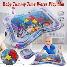 Inflatable Water Play Mat for Infant Baby Toddler Kid Tummy Time Sensory Toys TT
