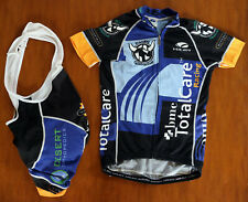 Voler Women Cycling Short Sleeve Jersey and Bib Shorts Team Branded Size XS