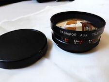 Yashikor Aux. Telephoto photo Camera Lens 1:4 Y902 lens made in Japan