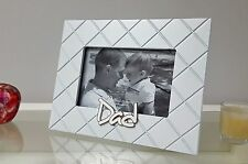 Dad Photo Frame for 6 x 4 inch Picture - Easel Style or Wall Hanging