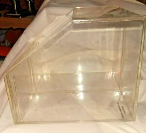Acrylic Retail Display Box - 2 Bin
