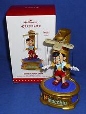 Hallmark Ornament Disney Pinocchio 2015 75th Anniversary Marionette Sound NIB