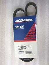 AC Compressor Belt 1999-2008 Silverado Sierra 5.3L 6.0L 6.2L 12576447